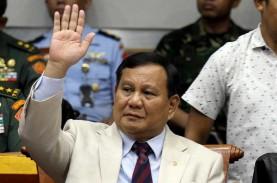 Kembali Jadi Ketum Gerindra, Ini Karir Politik Prabowo…