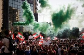 Demontrasi Pecah di Beirut, Seorang Polisi Tewas dan…