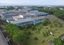 Pabrik PT Indofarma Tbk. Pada 2019, perusahaan farmasi milik negara itu berhasil mencetak laba setelah 3 tahun menderita kerugian./indofarma.id