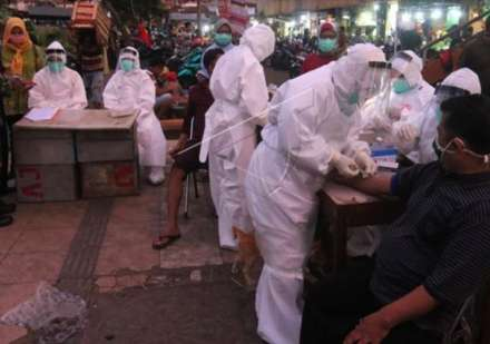 Kasus Positif Covid-19 di Jawa Timur Tembus 25.000 Orang