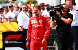 Vettel Menilai Ferrari Menerapkan Strategi Aneh di GP Silverstone