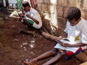 Pelajar di Papua Wajib Menggunakan Seragam saat Mengikuti Pembelajaran Secara Daring
