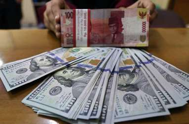 Kurs Jisdor Tembus Rp14.750 per Dolar AS, Rupiah Melemah di Pasar Spot