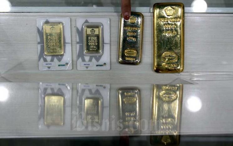 Hartadinata Hrta Jual Emas 0 1 Gram Begini Komparasi Dengan Emas Antam Dan Ubs Market Bisnis Com