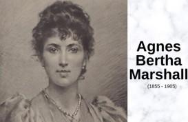 Agnes Marshall, Pengusaha Abad 19 yang Memelopori Es Krim Modern