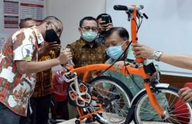 PMI Jakarta Lelang Sepeda Brompton: Ada Tanda Tangan JK dan Sandiaga Uno