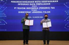 Telkom (TLKM) dan Ditjen Pajak Siapkan Integrasi Data Perpajakan