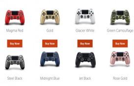 Kontroler DualShock PS4 Hadir dengan Pilihan Warna Terbaru