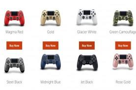 Kontroler DualShock PS4 Hadir dengan Pilihan Warna…