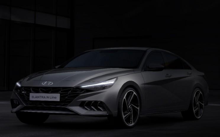 Hyundai Elantra N Line.  - Hyundai