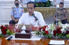 Ekonomi Tumbuh Negatif, Jokowi: Kita Patut Bersyukur,…
