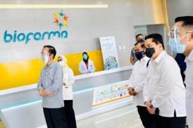 Bio Farma Klaim Mampu Produksi 100 Juta Vaksin Corona…