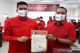 Menantu Jokowi Ditunjuk PDIP Jadi Calon Wali Kota…