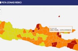 Satgas Covid-19 Jatim : Zona Oranye Surabaya Masih Perlu Kewaspadaan