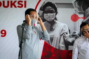 Presiden Joko Widodo Tinjau Fasilitas Produksi dan Uji Klinis Tahap III Vaksin Covid-19