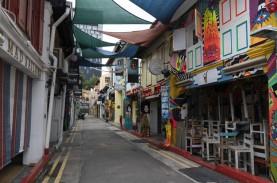 DAMPAK PANDEMI COVID-19 : Ekonomi Singapura Bisa Jatuh…