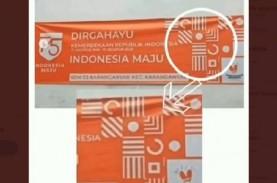 Viral Tanda Salib di Logo HUT ke-75 Kemerdekaan RI…