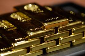 Bulan Madu Harga Emas Berakhir, Anjlok ke Level US$1.800