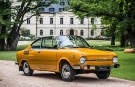 Skoda 110 R (1970–1980) : Coupe Elegan Dasar bagi Mobil Sport
