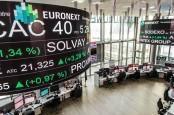 Data Ekonomi Inggris Suram, Bursa Eropa Fluktuatif