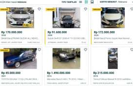 Mobil Keluarga dan Perkotaan Masih Dominasi Pasar Mobil Bekas