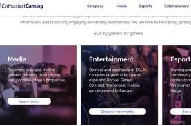 Enthusiast Gaming Klaim Pemasukan Stabil di Kuartal…
