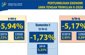 Ekonomi Jateng Terkontraksi hampir -6 Persen pada Triwulan II 2020