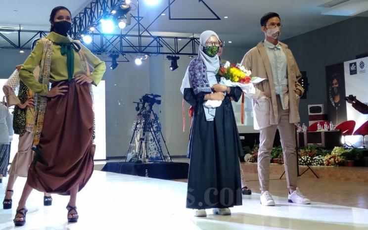 Fashion show virtual Balai Besar Pengembangan Latihan Kerja (BBPLK) Semarang, Kamis 13 Agustus 2020. - Bisnis/Alif Nazzala Rizqi