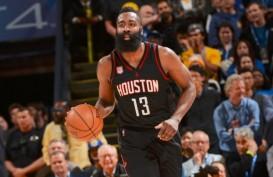 Hasil Basket NBA: James Harden Belum Mampu Bawa Houston Menang