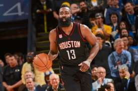 Hasil Basket NBA: James Harden Belum Mampu Bawa Houston…