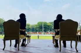 Jokowi Saksikan Geladi Kotor Upacara HUT ke-75 RI…