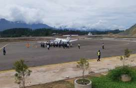 Bandara Buntu Kunik Toraja Layani Pendaratan Pesawat Perdana