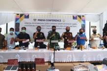 Bea Cukai Riau Amankan Barang Ilegal Senilai Rp331 Miliar