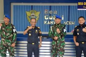 Strategi Bea Cukai dan Pomdam IM Aceh Berantas Penyelundup…