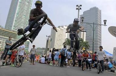 Pengemudi Mobil, Begini Cara Menghadapi Pesepeda di Jalan Raya