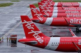 Jumlah Penumpang AirAsia Indonesia Susut Hampir 100…