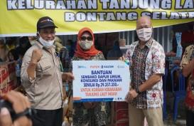 Respons Cepat Kebakaran Tanjung Laut Indah, Pupuk Kaltim Salurkan Bantuan Rp142,5 Juta