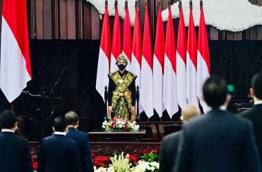 Presiden Jokowi Soroti Kosongnya Kursi di Sidang Tahunan MPR