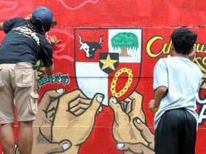 Lomba Mural Dengan Tema Kemerdekaan Indonesia di Bogor