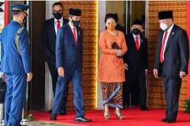 Berapa Ponten Pidato Jokowi, Puan Maharani dan Bamsoet…