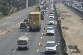 Contraflow di Tol Jakarta-Cikampek Arah Cikampek Mulai…