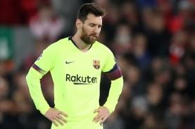 Barcelona Dilibas Munchen, Messi Kecewa Berat di Ruang…