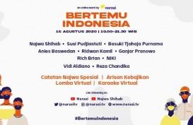 #BertemuIndonesia di Momen Perayaan 75 Tahun Kemerdekaan Indonesia