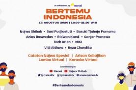 #BertemuIndonesia di Momen Perayaan 75 Tahun Kemerdekaan…
