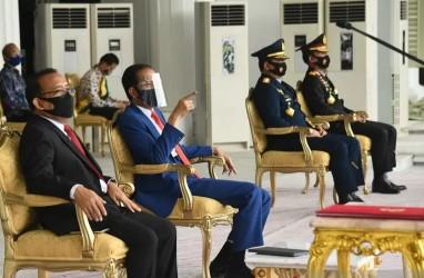 Presiden Jokowi Pimpin Renungan Suci di TMP Kalibata Jakarta