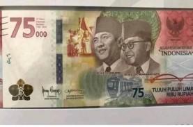 Confirm! Ini Gambar Uang Rp75.000 yang Dirilis BI…