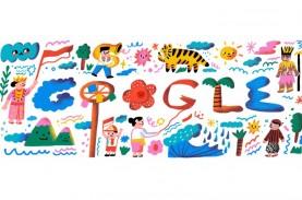 Google Doodle Ikut Rayakan HUT ke-75 Kemerdekaan RI