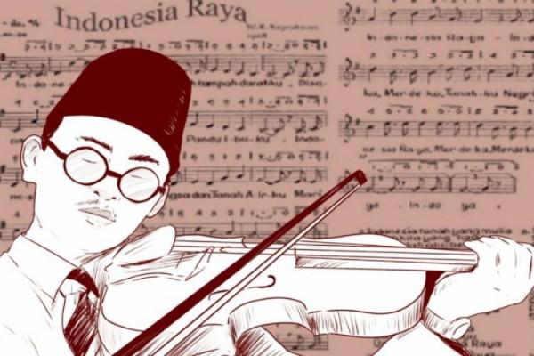 Ini Lirik Lagu Indonesia Raya 3 Stanza Kabar24 Bisnis Com