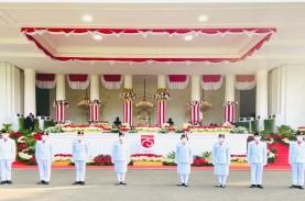 HUT ke-75 RI, 8 Paskibraka Siap Kibarkan Bendera Merah…