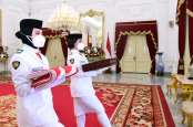 Detik-Detik Proklamasi, Tim Sabang Kibarkan Merah Putih di Istana Merdeka